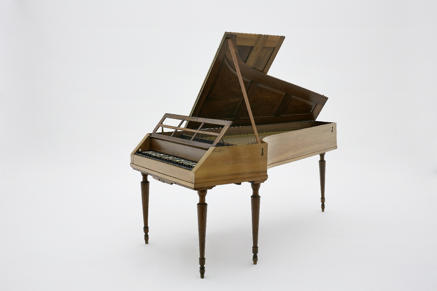 Fortepiano owned by Johann Michael Haydn, Johann Schmid, Salzburg, 1803, walnut, veneered, brass, steel, inv. no. MI 1035